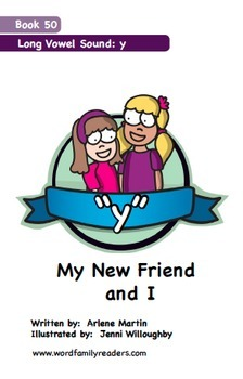 Word Family Readers Book #50 My New Friend and I