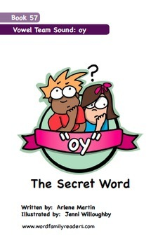 Word Family Readers Book #57 The Secret Word