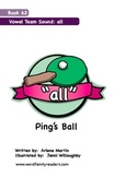 Word Family Readers Book #62 Ping's Ball