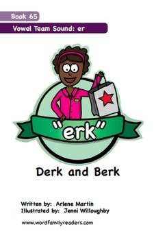 Word Family Readers Book #65 Derk and Berk