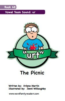 Word Family Readers Book #68 The Picnic