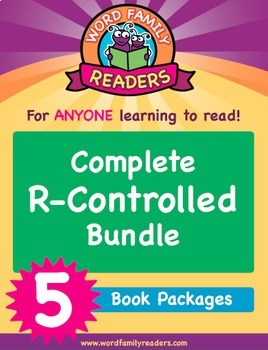 Word Family Readers - R-Controlled: 5 Book Bundle