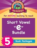 "Word Family Readers - Short Vowel Group: ""e"" Bundle (Books 6-10)"