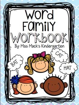 Word Family {Rhyming Words} Workbook