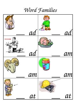 Word Family Sample