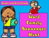 Word Family Scavenger Hunt