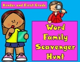 Word Family Scavenger Hunt  #bts30