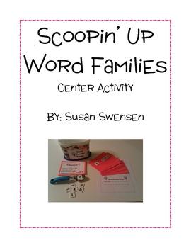 Word Family Scoop Center