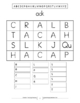 Word Family Scrambles