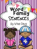 Word Family Sentences