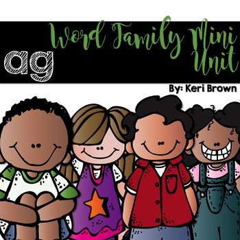 Word Family Series {-ag}