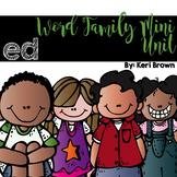 Word Family Series {-ed}
