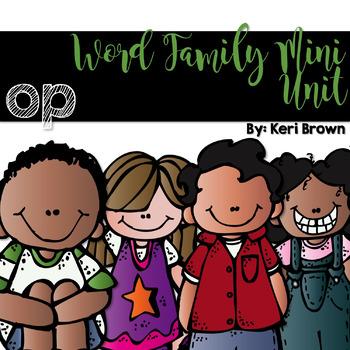 Word Family Series {-op}