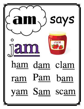 Word Family Short Vowel