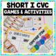 Word Family Short 'i' CVC Word Work Bundle