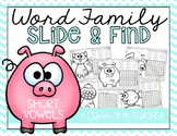 Word Family Worksheets for Short Vowels