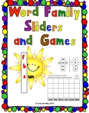 Word Family Centers and Games
