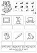 Word Family Sliders and Worksheet Pack