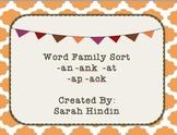 Word Family Sort