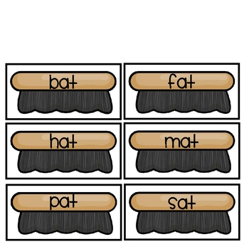 Word Family Sort- Short A