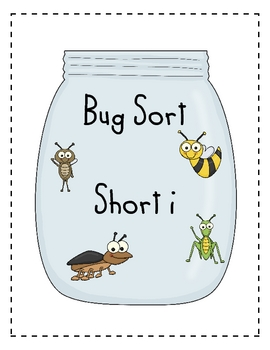 Word Family Sort- Short i (insects)
