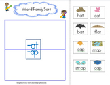 Word Family Sort at_ap