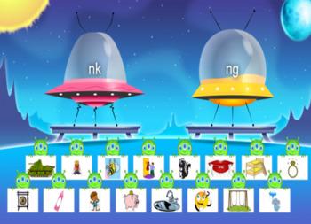 Word Family Sorting Activity Final Consonant Blends -nk and -ng