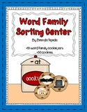Word Family Sorting Center: Short Vowels