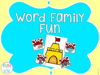 Word Family Sorting Fun