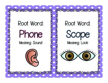 Word Family Sorting Mats