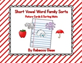 Word Family Sorting {Short Vowels}
