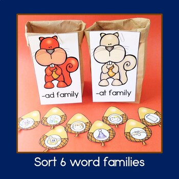 Word Family Sorting: Short a Words