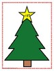 Word Family Sorting with Christmas Trees Short I