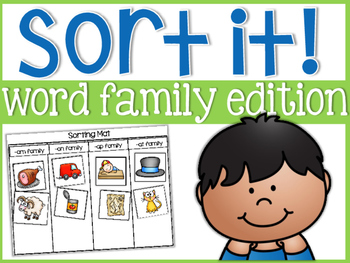 Word Family Sorts