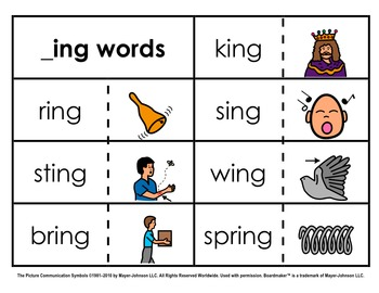 Word Family Sorts - Alternate Vowels (Set 2)