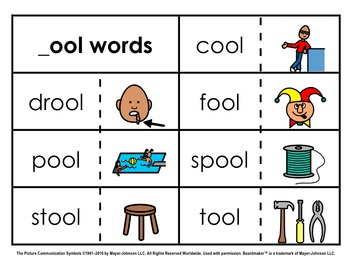 Word Family Sorts - Alternate Vowels (Set 2)