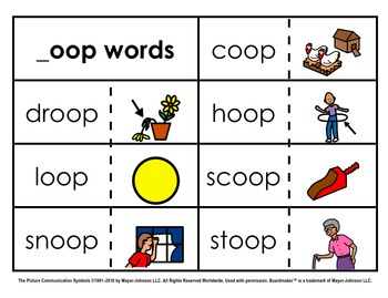 Word Family Sorts - Alternate Vowels (Set 3)