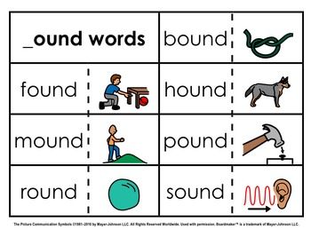 Word Family Sorts - Alternate Vowels (Set 3)