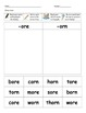 Word Family Sorts- Long Vowels & Diphthongs