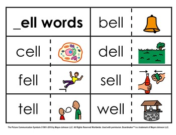 Word Family Sorts - Short Vowels (Set 2: Short E)