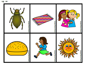 Word Family Sorting Pictures *The ULTIMATE Short Vowel Resource