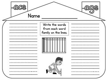 Long Vowel and R Controlled Word Families