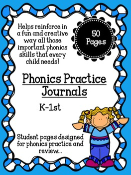 Phonics Word Family Student Journals: Phonics skills and Writing