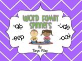 Word Family Spinner Station