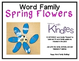 Word Family Spring Flowers