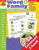 Word Family Stories and Activities, Level B