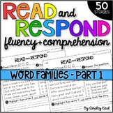 Phonics Reading Passages for Fluency & Comprehension - Short Vowel Word Families