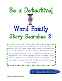 Word Family Story Searches 2