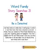 Word Family Story Searches 3