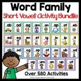 Word Families Activity Bundle